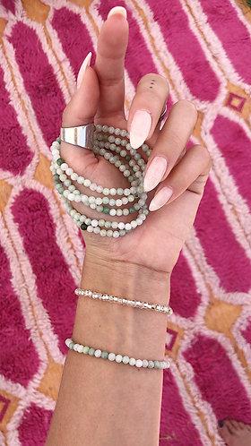 Alignment Bracelet (Green Jade)