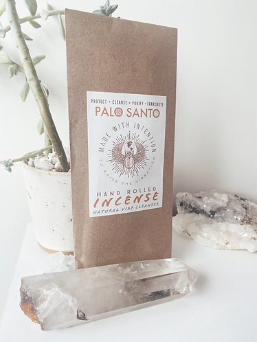 Hand Rolled Incense (Palo Santo)