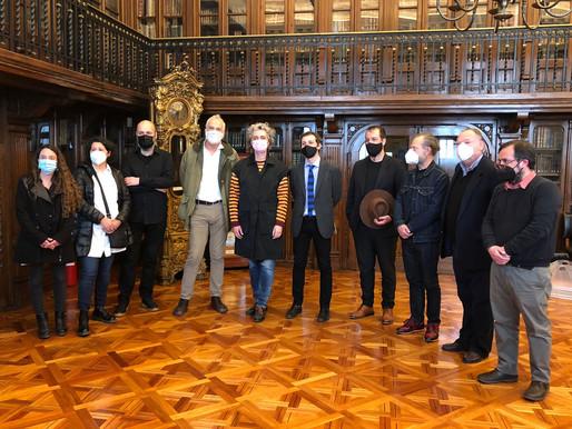 Feria Ch.ACO 12 en la Biblioteca Nacional de Chile
