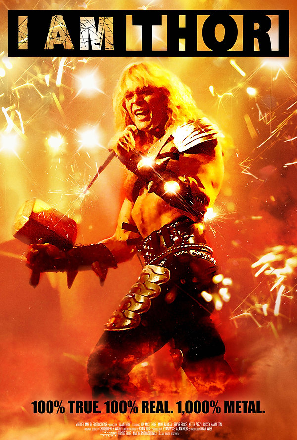 I Am Thor  is the award winning documentary about the fascinating life of Jon Mikl Thor of the band THOR.