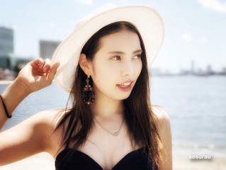 Ellieさん、日本経済新聞電子版 モデル