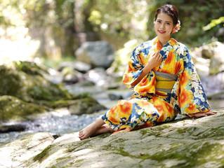 Ellieさん、竹川写真館様、着物カタログモデル