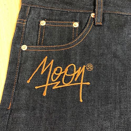 Script Selvedge Denim Jeans