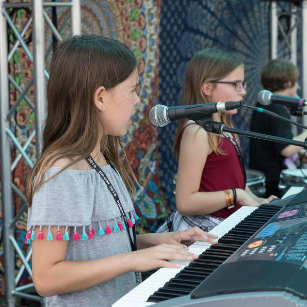 Playing at Mustang Spring Jam