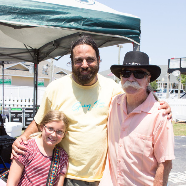 Mike Dianna & Outer Banks Blues legend Mojo Collins