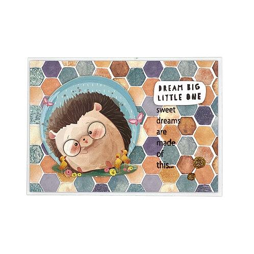 Baby-Karte Igel