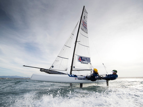 From Sailor to Ship Scientist to PhD in Americas' cup team... to the Olympics!