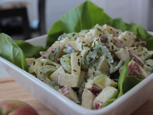 Salade '' Waldorf '' simplifiée