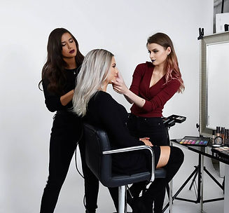 stefani-polly-hårstyling-makeup-modell-klient-hair-styling-smink-model-client