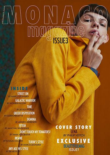 Publicerat arbete i Monaco magazine