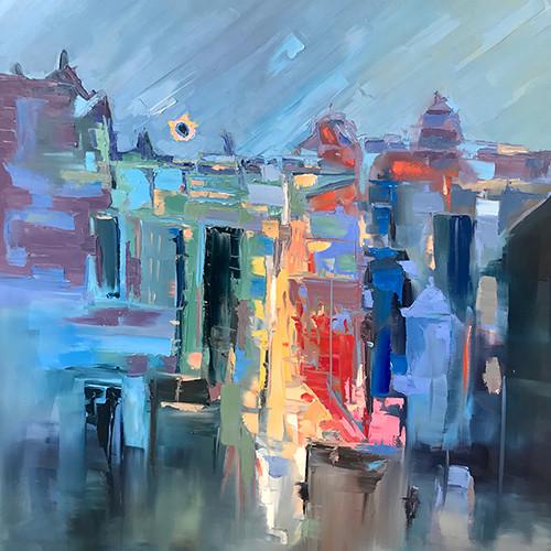 Artist Amber Favre