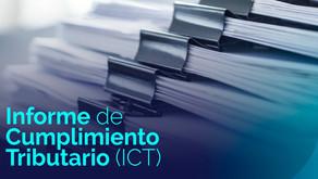 Anexos del Informe de Cumplimiento Tributario (ICT) para el ejercicio fiscal 2020