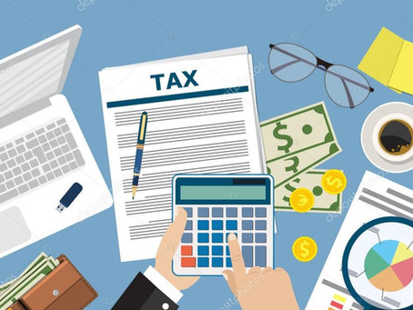 Tablas de Rangos para pago de Impuestos en el período fiscal 2020