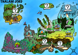 Weltkarte von _Game On, Novalee_