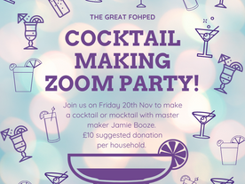 The Great FoHPED Cocktail Class