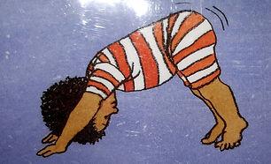 dessin de relaxation corporelle pour les