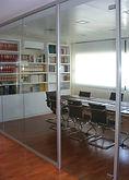 División de oficinas en cristal