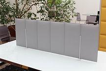 Separador acustico para mesa