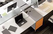 Muebles de oficina con electrificación