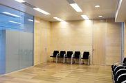 Paneles separadores oficina