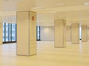 Paneles de madera para oficina
