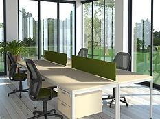 Separadores para mesas de oficina
