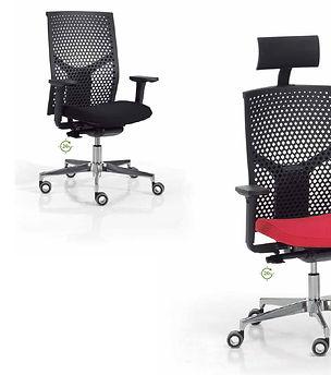 Silla ergonómica de oficina modelo ATIKA