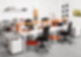 Mesas de oficina puestos operativos