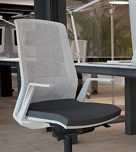 Silla ergonómica de oficina modelo DUO