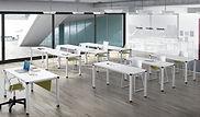 Mesas polivalentes para oficina o formación