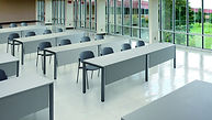 Mesa pupitre para aulas de formación