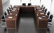 Mobiliario de dirección para oficina