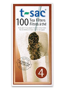T-Sac Tea Filters: Size 4