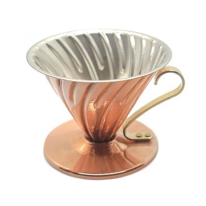 Hario Copper Coffee Dripper: Size 2