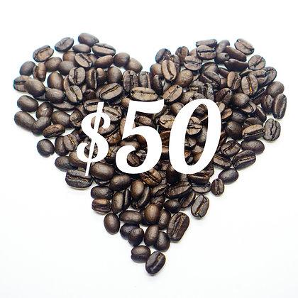 $50 Gift Coupon