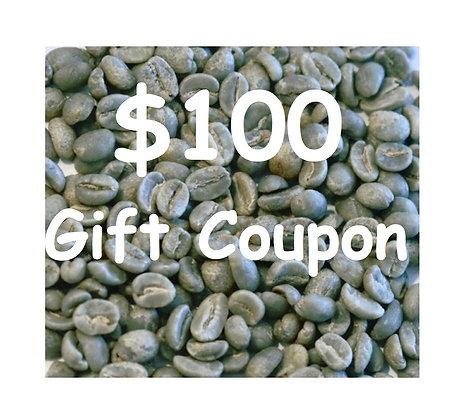 $100 Gift Coupon