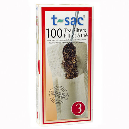 T-Sac Tea Filters: Size 3