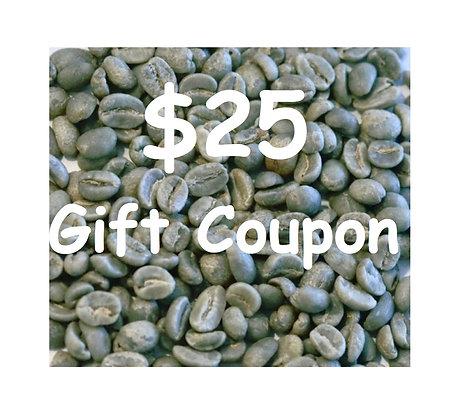$25 Gift Coupon