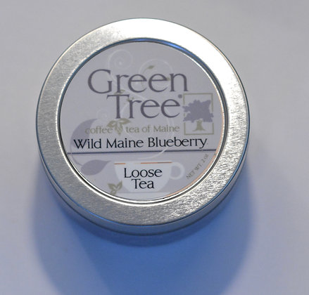 Wild Maine Blueberry Loose Tea Tin