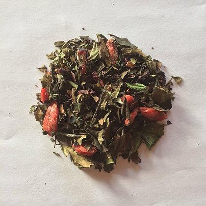 Organic White Goji Hibiscus Berry