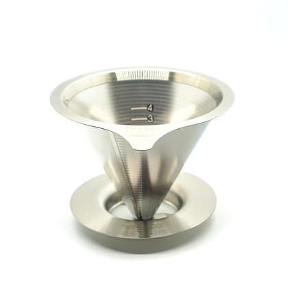 Hario V60 Stainless Steel Double Mesh Coffee Dripper: Size 2