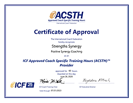 StrengthSynergy ACSTH Certificate.png