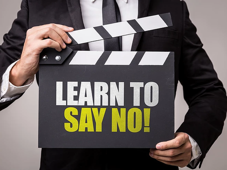 """Struggle to say """"No""""? You are saying """"no"""" all the time..."""
