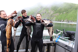 Kodiak, Alaska - Freediving & Spearfishing