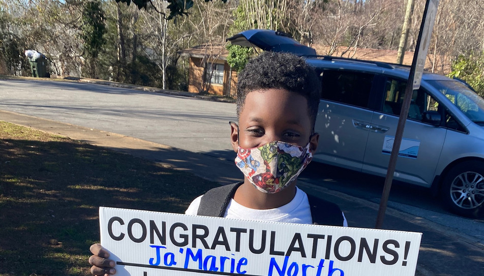 Ja'Marie is student of the month