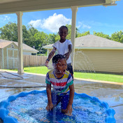 Water Day at Summer Camp
