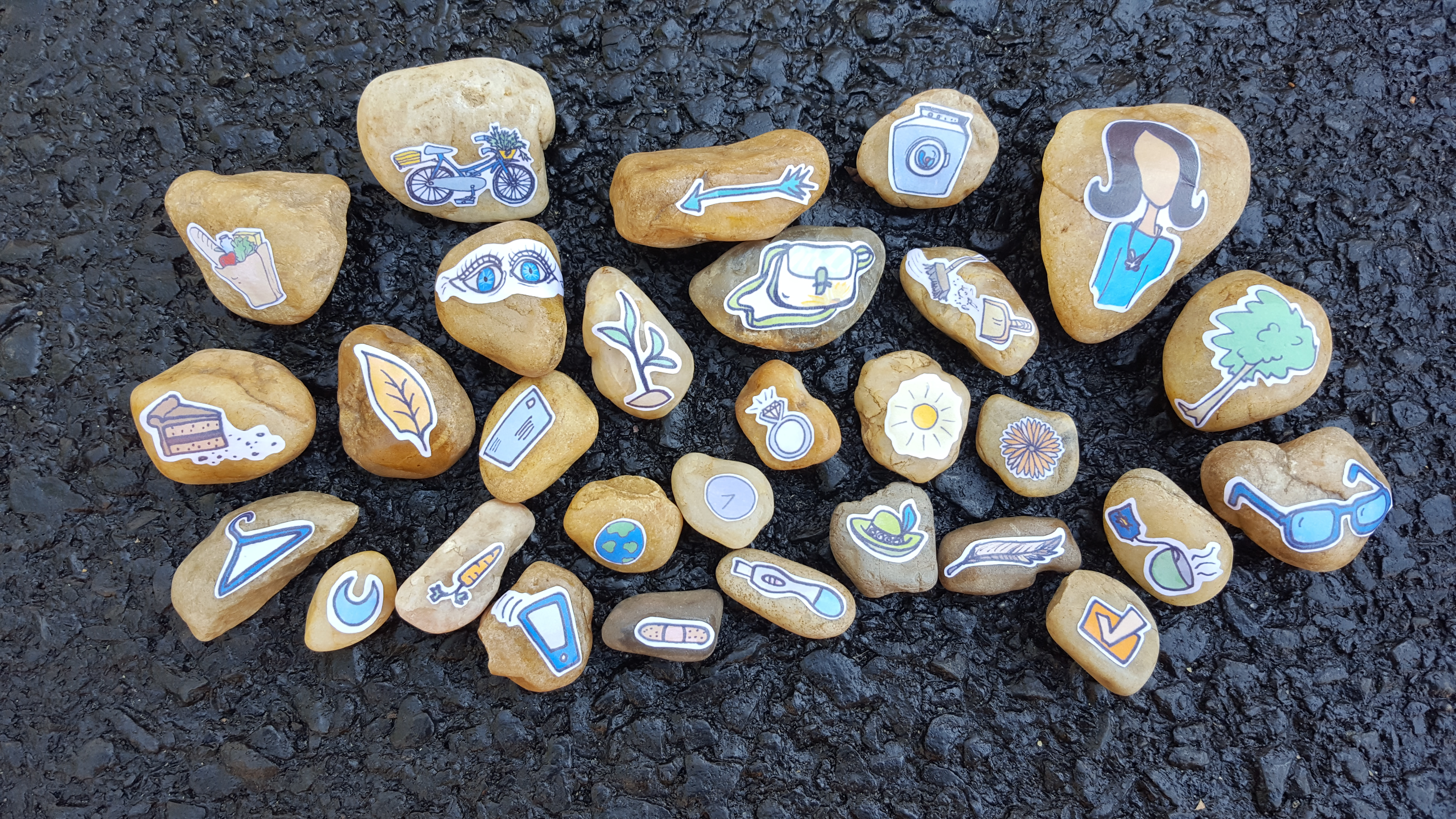 WOMENS ROCK collection 2 story stone