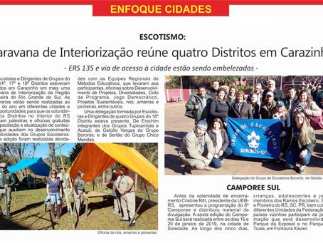 Caravana de Interiorização reúne quatro Distritos em Carazinho