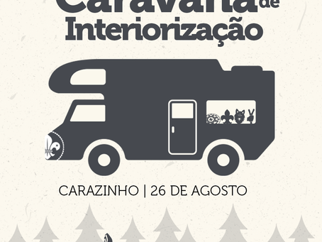 Programação da Caravana de Interiorização Taquari