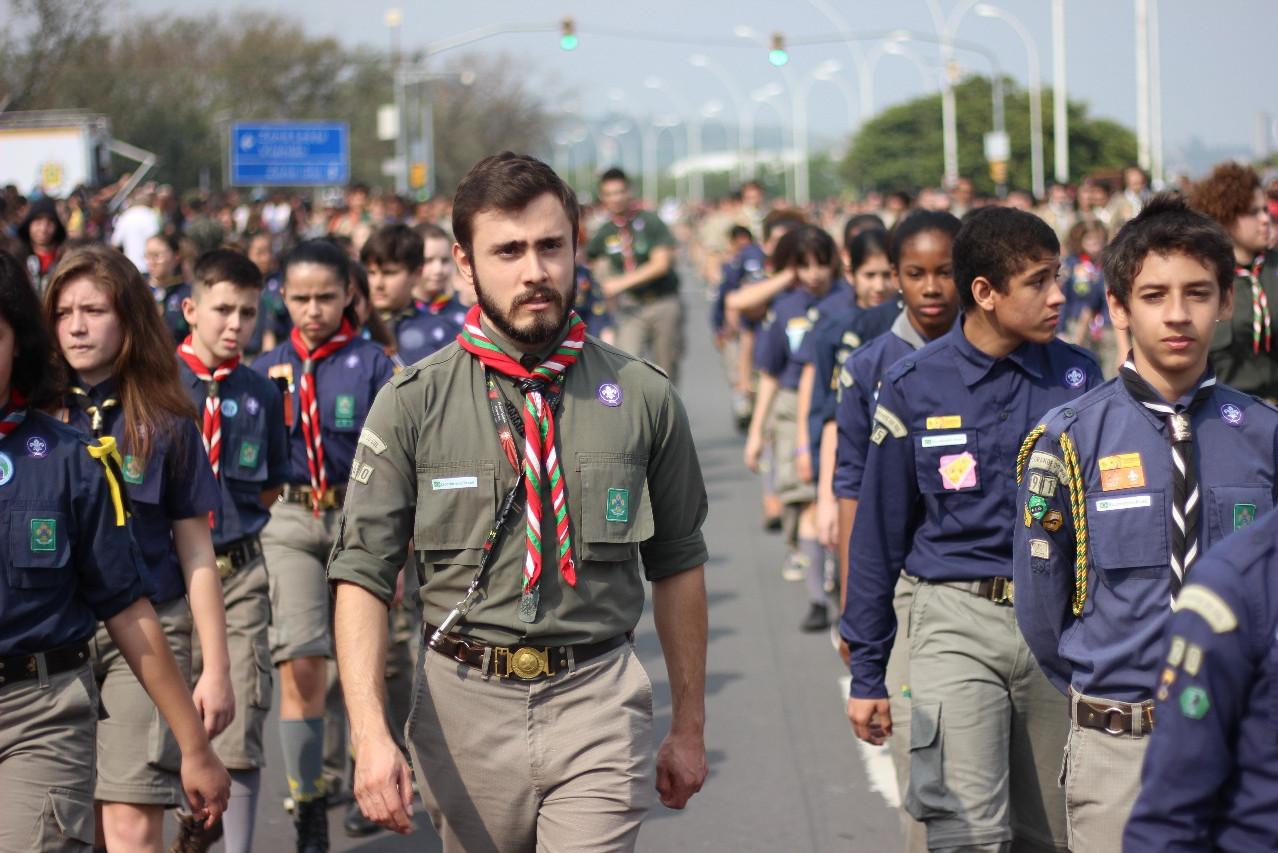 Desfile em Porto Alegre